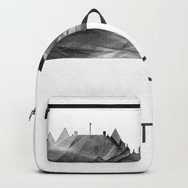 Victoria, British Columbia Canada skyline WB BW Backpack