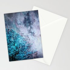 My Dreams Are Coming True : Turquoise & Lavender Stationery Cards