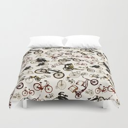 the vintage ride Duvet Cover
