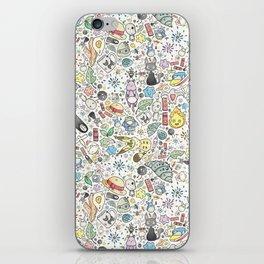 Ghibli Love iPhone Skin