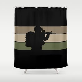 Soldier Shower Curtain