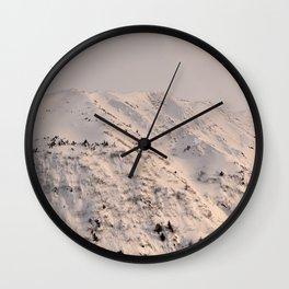 Turnagain Arm Mountain Wall Clock