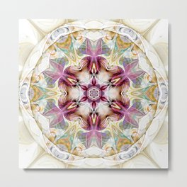 Mandalas from the Heart of Change 7 Metal Print