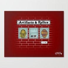 Artifacts & Relics Canvas Print