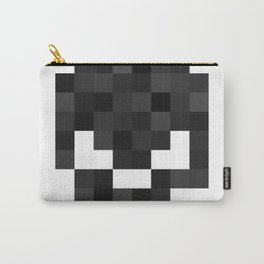 8bit pixelated skull. Carry-All Pouch