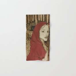 Red Riding Hood and the Wolf Hand & Bath Towel