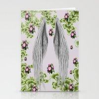 angel wings Stationery Cards featuring angel wings by karens designs