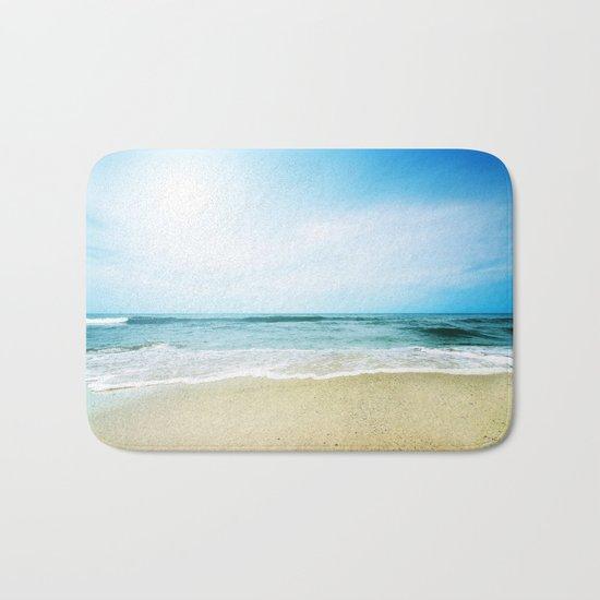 Paradise Ocean waves Bath Mat
