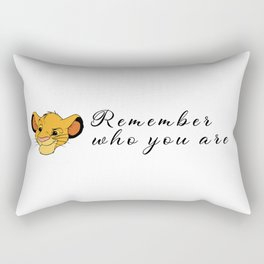 The lion king: Remember who you are Rectangular Pillow