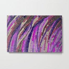Pink & Purple Mosaic - JUSTART (c) Metal Print