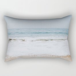 beach vibes xix / laguna beach, california Rectangular Pillow