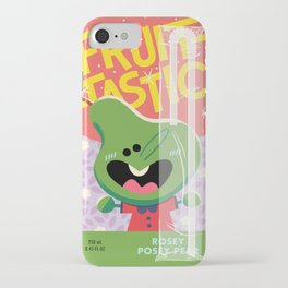 Rosey Posey Pear iPhone Case