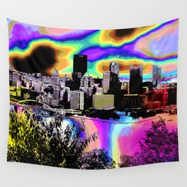 Tripping Bridges Wall Tapestry