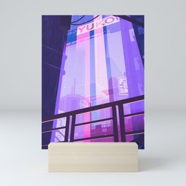 Cyberpunk Neo Lights Mini Art Print