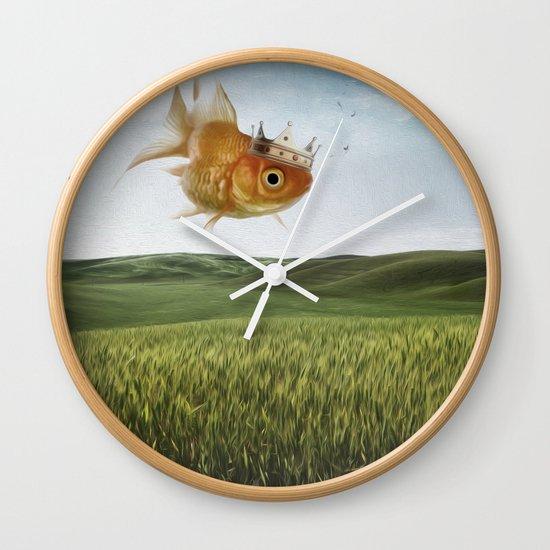 king fish Wall Clock