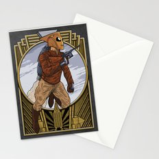 A rocket man. Stationery Cards