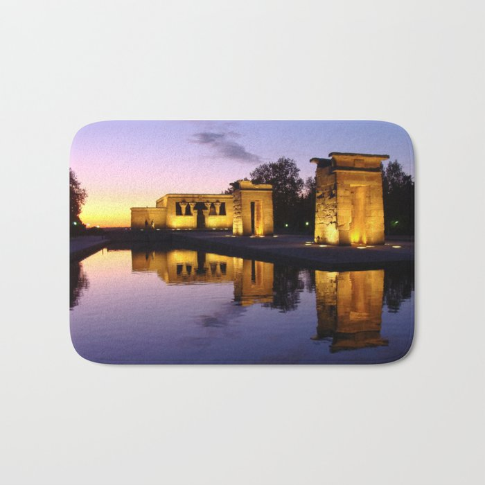 Temple of Debod (Madrid) Bath Mat