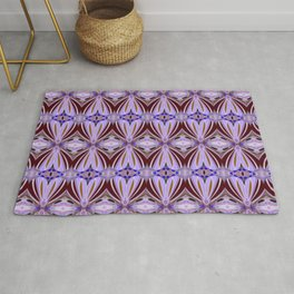 Hidden heart and geometrical shapes Rug