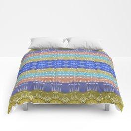Elegant Neo Tribal Aztec Boho Print Comforters