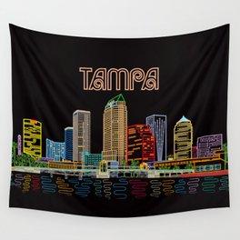 Tampa Circuit Wall Tapestry
