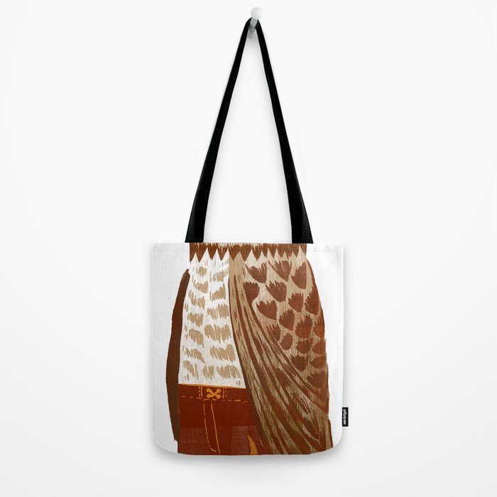 Hip Hop Owl Tote Bag