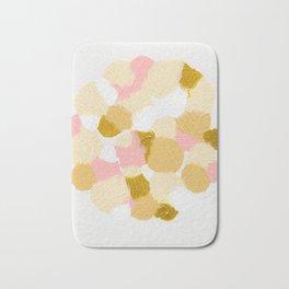 Gold pink Badematte