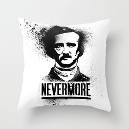 Nevermore! Throw Pillow