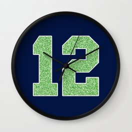 12th Man Wall Clock
