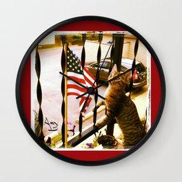 i pledge allegiance... Wall Clock