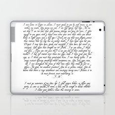 Wentworth's Letter Laptop & iPad Skin