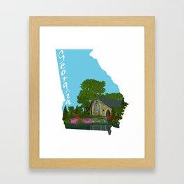 Georgia: Callaway Gardens Framed Art Print