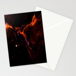 Space Thunderbolt Stationery Cards