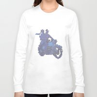 motorbike Long Sleeve T-shirts featuring Motorbike  by marcusmelton