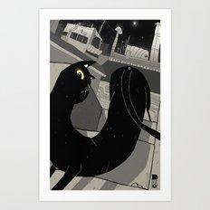 The Gato. Art Print