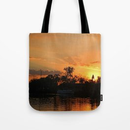 Flirting with Fire Tote Bag