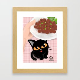 Look delicious Framed Art Print