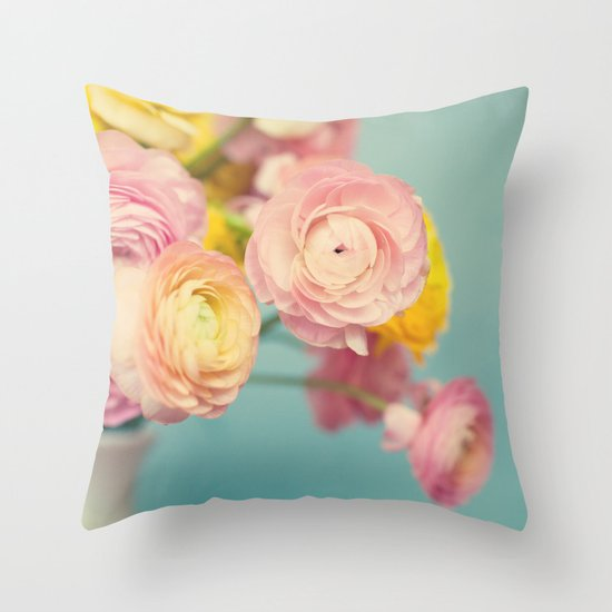 Rites of Spring Throw Pillow