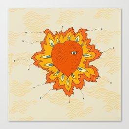 Hearts Afire Canvas Print