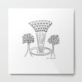 Jewel - Singapore  Metal Print