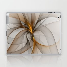 Elegant Chaos, Abstract Fractal Art Laptop & iPad Skin
