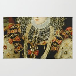 Portrait of Elizabeth I Rug