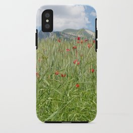 Au pied du Chamousset iPhone Case