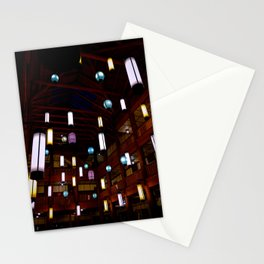 The Lanterns of Many Glacier Hotel Stationery Cards