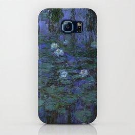 Blue Water Lilies Monet 1916- 1919 iPhone Case