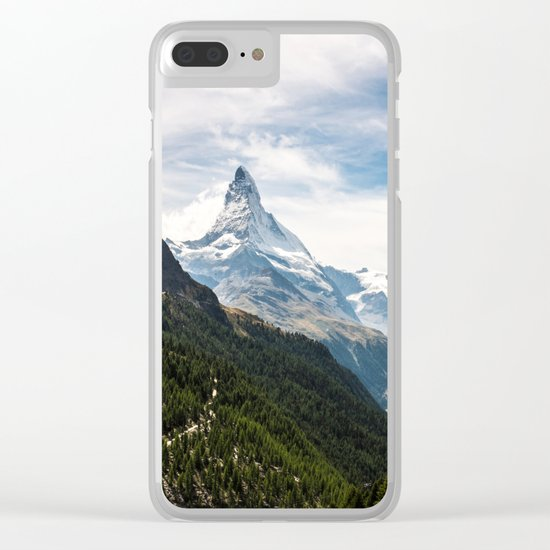 Explore earth Clear iPhone Case