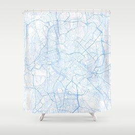 Rome. Blue Period Shower Curtain
