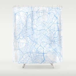 Rome. Blue Period Shower Curtain