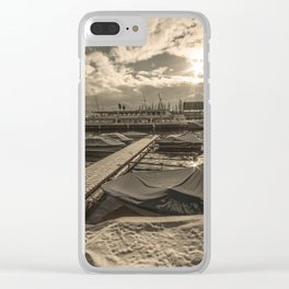 Cold Boats Clear iPhone Case