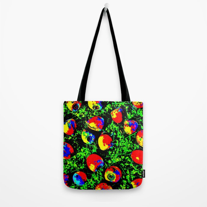 Colorful Nuts Tote Bag