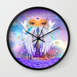 When Angels Cry Wall Clock